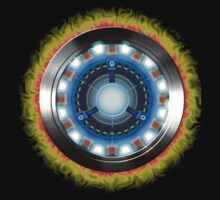 Iron Man's Arc reactor by G3no