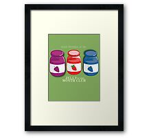 Proud Member of the Jelly of the Month Club Framed Print