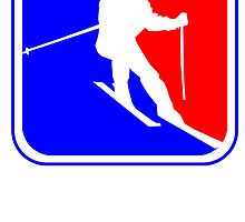 Skiing League Logo by kwg2200