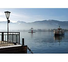 Boat-trip on the Wolfgangsee Photographic Print
