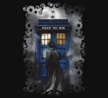 The Doctor with Black jacket by ThreeSecond DesignandArt