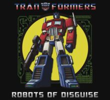 """ROBOTS OF DISGUISE"" - Tranformer by Slightly Wrong Quotes"