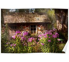 Garden - Belvidere, NJ - My little cottage Poster