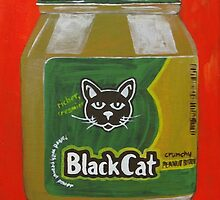 Black Cat Peanut Butter by Sonja Peacock