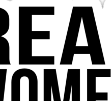 Real Women Hunt Sticker