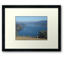 Lake Eildon Framed Print