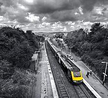 Liskeard High Speed Train  by Rob Hawkins