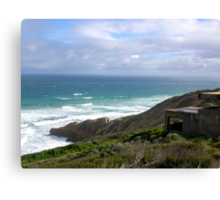 Seascape - Point Nepean, Victoria, Australia Canvas Print