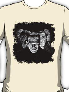 Classic Monsters Black & White POP! T-Shirt
