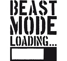 Caution Beast Mode Loading by Style-O-Mat