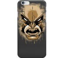 wolverine face iPhone Case/Skin