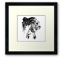 The Lion Man Framed Print