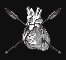Valentine Heart With Arrows by ZugArt