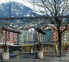 Reflections of Innsbruck by Arie Koene