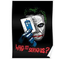 Who so Serious? Poster