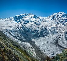 Gorner Glacier by Adam Northam