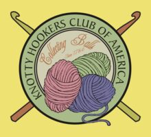 Knotty Hookers Club of America (Official Products) Kids Clothes
