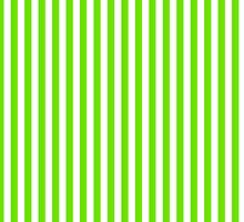Green White Candy Stripes by ColorPalette