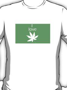I love Cannabis T-Shirt