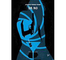No277-007 My Dr No minimal movie poster Photographic Print