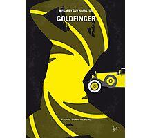 No277-007 My Goldfinger minimal movie poster Photographic Print