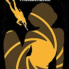 No277-007 My Thunderball minimal movie poster by Chungkong