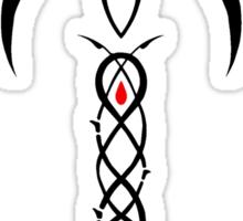 Phèdre's Marque Tribal Rose Design Sticker
