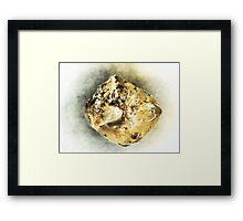 Roughly (Diamond) Framed Print