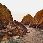 The Rocks of Mullion Cove, Cornwall by SaraHardman
