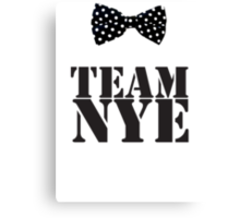 Team Bill Nye The Science Guy Canvas Print