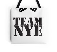 Team Bill Nye The Science Guy Tote Bag