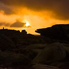 Sunrise on Stanage Edge by John Dunbar