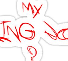 Killing joke 1 Sticker