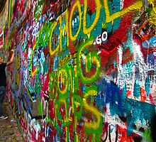 John Lennon Wall - Prague by Matt Fox