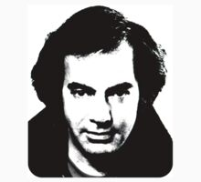 Neil Diamond 1980's B/W by smilku
