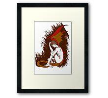The Desperation of Smaug Framed Print