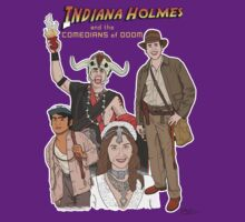 Indiana Holmes and the Comedians of Doom by Eddie Mauldin