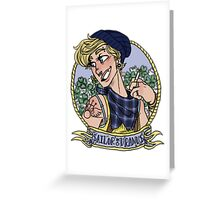 sailor uranus Greeting Card