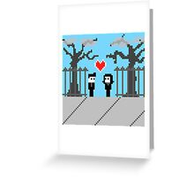 Pixel Love: We Found Love Greeting Card