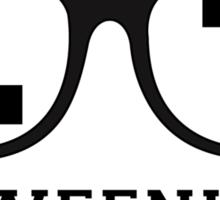 L 7 Weenie Sticker