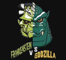Frankenstein vs Zilla by monsterfink