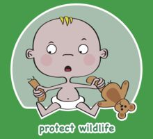 Protect Wildlife by Kidgreen