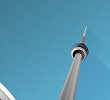 Minimalist Rogers Centre - Toronto (no text) by pootpoot