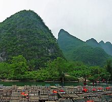 Li River Cruise 02 by DarthIndy
