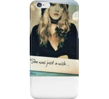 She Was Just A Wish.... iPhone Case/Skin