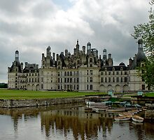 Castle of Chambord - France by Arie Koene