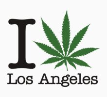 I Marijuana Los Angeles by crazytees
