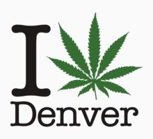 I Marijuana Denver by crazytees
