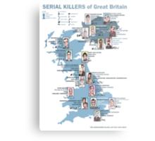 Serial Killers of Great Britain Metal Print