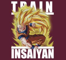 Train insaiyan - Goku by Ali Gokalp